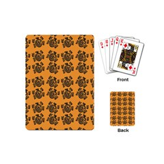 Inka Cultur Animal - Animals And Occult Religion Playing Cards Single Design (mini) by DinzDas