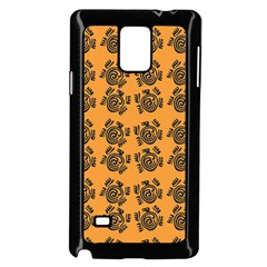 Inka Cultur Animal - Animals And Occult Religion Samsung Galaxy Note 4 Case (black) by DinzDas