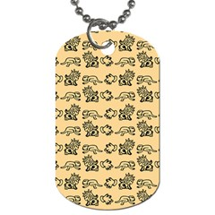 Inka Cultur Animal - Animals And Occult Religion Dog Tag (one Side) by DinzDas