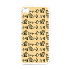 Inka Cultur Animal - Animals And Occult Religion Iphone 4 Case (white) by DinzDas