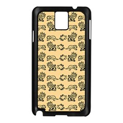 Inka Cultur Animal - Animals And Occult Religion Samsung Galaxy Note 3 N9005 Case (black) by DinzDas