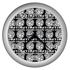 Inka Cultur Animal - Animals And Occult Religion Wall Clock (silver) by DinzDas
