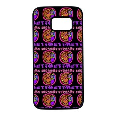 Inka Cultur Animal - Animals And Occult Religion Samsung Galaxy S7 Black Seamless Case