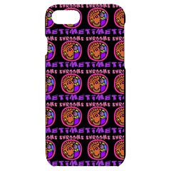Inka Cultur Animal - Animals And Occult Religion Iphone 7/8 Black Uv Print Case by DinzDas