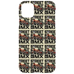 Bmx And Street Style - Urban Cycling Culture Iphone 11 Black Uv Print Case by DinzDas