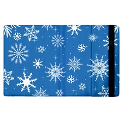 Winter Time And Snow Chaos Apple Ipad Mini 4 Flip Case by DinzDas