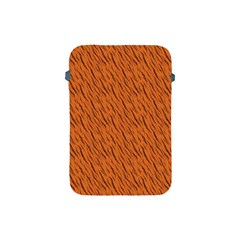 Animal Skin - Lion And Orange Skinnes Animals - Savannah And Africa Apple Ipad Mini Protective Soft Cases