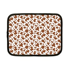 Animal Skin - Brown Cows Are Funny And Brown And White Netbook Case (small) by DinzDas