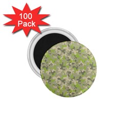 Camouflage Urban Style And Jungle Elite Fashion 1 75  Magnets (100 Pack)  by DinzDas