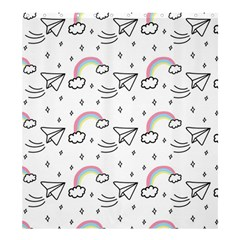 Cute-art-print-pattern Shower Curtain 66  X 72  (large)