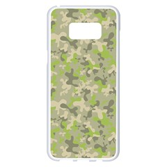 Camouflage Urban Style And Jungle Elite Fashion Samsung Galaxy S8 Plus White Seamless Case by DinzDas