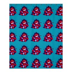 Little Devil Baby - Cute And Evil Baby Demon Shower Curtain 60  X 72  (medium)  by DinzDas