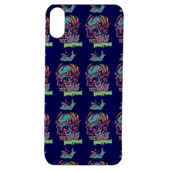 Jaw Dropping Horror Hippie Skull Apple Iphone Xs Tpu Uv Case