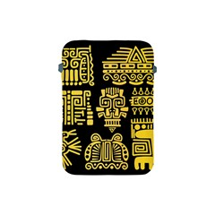 American-golden-ancient-totems Apple Ipad Mini Protective Soft Cases by Bejoart