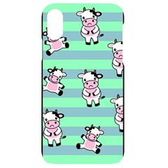 Cow Pattern Iphone Xr Black Uv Print Case
