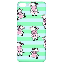 Cow Pattern Iphone 7/8 Plus Soft Bumper Uv Case by designsbymallika