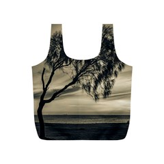Coast Sunset Scene, Montevideo, Uruguay Full Print Recycle Bag (s) by dflcprintsclothing