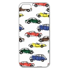 Cars Pattern Apple Seamless Iphone 5 Case (clear)