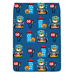 Racing Car Printing Set Cartoon Vector Pattern Removable Flap Cover (s)