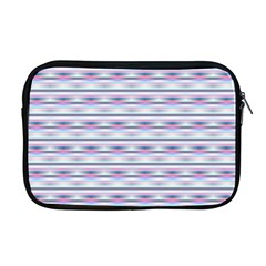 Pastel Lines, Bars Pattern, Pink, Light Blue, Purple Colors Apple Macbook Pro 17  Zipper Case by Casemiro