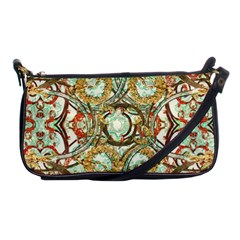 Multicolored Modern Collage Print Shoulder Clutch Bag by dflcprintsclothing