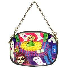 Circus Ghosts Chain Purse (two Sides) by snowwhitegirl