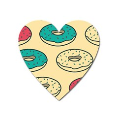 Donuts Heart Magnet by Sobalvarro