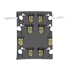 Cchpa Coloured Pineapple Lightweight Drawstring Pouch (l)