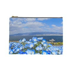 Floral Nature Cosmetic Bag (large)