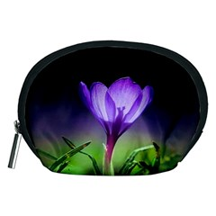 Floral Nature Accessory Pouch (medium)