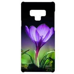 Floral Nature Samsung Note 9 Black Uv Print Case