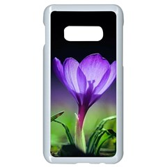 Floral Nature Samsung Galaxy S10e Seamless Case (white)