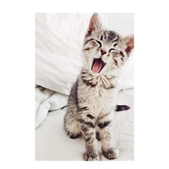 Laughing Kitten Shower Curtain 48  X 72  (small)