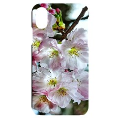 Pinkfloral Iphone X/xs Black Uv Print Case