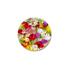 Beautiful Floral Golf Ball Marker (10 Pack)