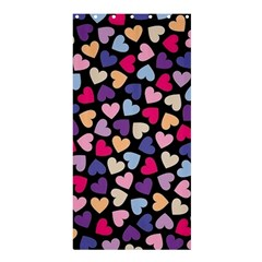 Colorful Love Shower Curtain 36  X 72  (stall)  by Sparkle