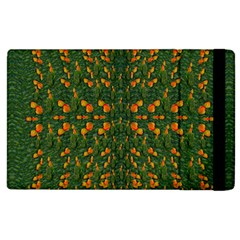 Sakura Tulips Giving Fruit In The Festive Temple Forest Apple Ipad 3/4 Flip Case