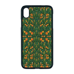 Sakura Tulips Giving Fruit In The Festive Temple Forest Iphone Xr Seamless Case (black) by pepitasart