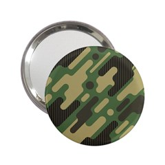 Camouflage Pattern Background 2 25  Handbag Mirrors
