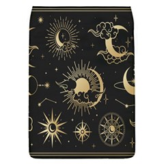 Asian Set With Clouds Moon Sun Stars Vector Collection Oriental Chinese Japanese Korean Style Removable Flap Cover (l) by Bejoart