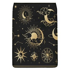 Asian Set With Clouds Moon Sun Stars Vector Collection Oriental Chinese Japanese Korean Style Removable Flap Cover (s) by Bejoart