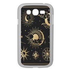 Asian Set With Clouds Moon Sun Stars Vector Collection Oriental Chinese Japanese Korean Style Samsung Galaxy Grand Duos I9082 Case (white)