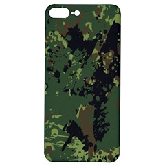 Military Background Grunge  Iphone 7/8 Plus Soft Bumper Uv Case by Bejoart