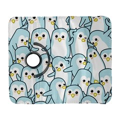 Penguins Pattern Samsung Galaxy S  Iii Flip 360 Case by Bejoart
