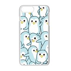 Penguins Pattern Iphone 7 Plus Seamless Case (white) by Bejoart