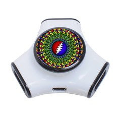 Grateful Dead 3-port Usb Hub by Sapixe