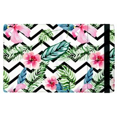Tropical Zig Zag Pattern Apple Ipad Pro 12 9   Flip Case by designsbymallika
