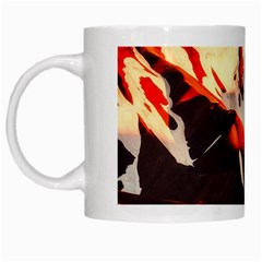 Iceland Landscape Mountains Snow White Mugs