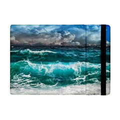 Ocean-waves-under-cloudy-sky-during-daytime Ipad Mini 2 Flip Cases