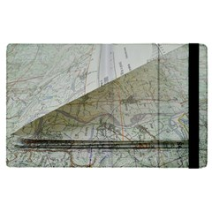 Map-navigation-orientation-drawing-geography Apple Ipad Pro 9 7   Flip Case